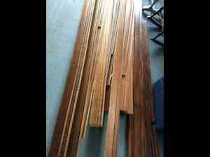 4 inch Wooden Baseboard Trim and Chair Rail