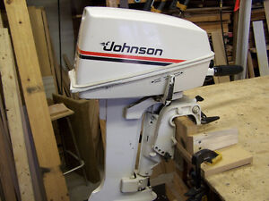 7.5 hp Johnston outboard