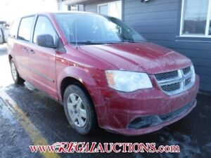 2012 DODGE GRAND CARAVAN  WAGON