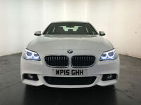 2015 BMW 520D M SPORT AUTOMATIC DIESEL SALOON 1 OWNER SERVICE HISTORY FINANCE PX