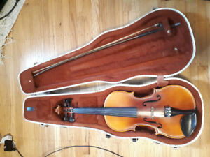 3/4 A.R. Seidel German hand made copy Antonius Stradivarius 1979