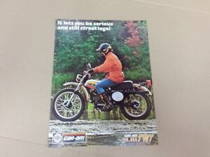 Can AM T NT 175 250 brochure mint enduro