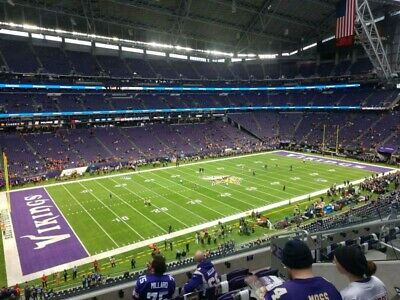 2 tickets Minnesota Vikings vs Dallas Cowboys 11/22 3:25PM NFL football game 239