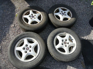 GM alloy wheels