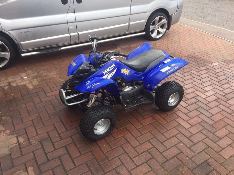 Yamaha 50cc 39 mini raptor 39 kids quad in montrose angus for Yamaha raptor 50cc