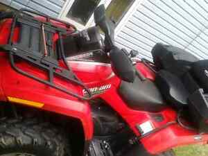 2007 Cam am Outlander 650 cc V-Twin engine