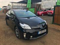 TOYOTA PRIUS 2015 UK MODEL CAR PCO READY CAMERA BLUTOOTH WARRANTED MILESLEATHER