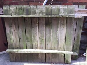 ~Free~ 3 Panel Wooden Fence - Pick Up