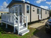 Swift Bordeaux Exclusive 2019 static caravan at Haven Church Farm, Pagham