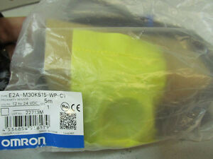 NEW - Omron Proximity Sensor E2A-M30KS15-WP-C1 5M Kitchener / Waterloo Kitchener Area image 3