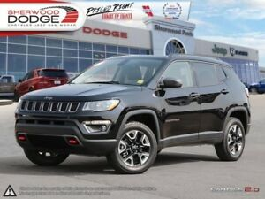2017 Jeep Compass Trailhawk  OFF ROAD CAPABILITY | HEATED LEATHE