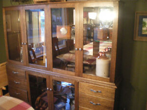 Antique Solid Wood Hutch - Reduced Need it Gone