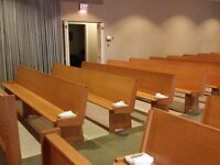 Chapel Benches