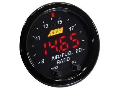 AEM X-Series Wideband Gauge AFR O2 UEGO Air Fuel Ratio 2 1/16