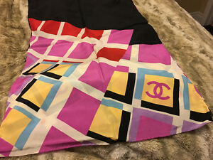 Chanel scarf 100% silk Brand New