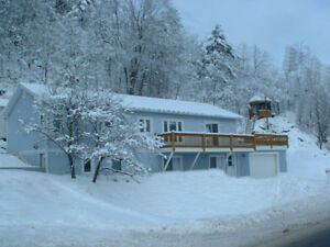 A fabulous cottage next to Mt. Ste Marie for March Break