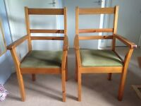 Carver chairs solid wood
