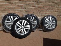16in Goodyear tires and rims for sale!