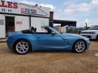 2004 54 BMW Z4 2.2 Z4 SE ROADSTER 2D 168 BHP