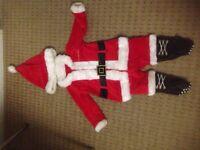 Santa costume baby size 0-3