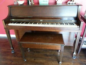 Rich sounding upright piano