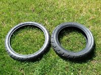 Metzeler Tourance Tires - Front and Rear