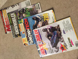 Over 200 Free Snowmobile Magazines