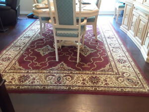 Beautiful area carpet looking for a new home.