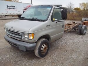 1997 Ford E-350 with extra 70 Gallon fuel tank-box sold seperate
