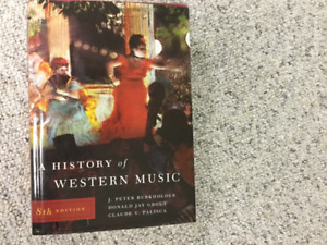 Music History Book