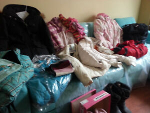 Warm Girls Wintercoats & Winter Boots.....Great condition....