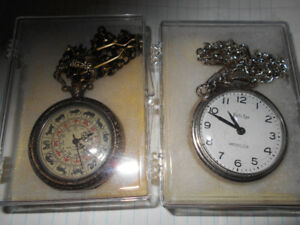 WIND-UP POCKET WATCHES.