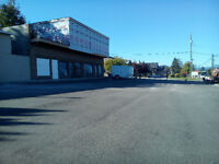 ENDERBY building for storage/lease on Hwy