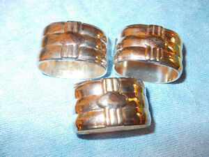 Silver Plate Napkin Rings