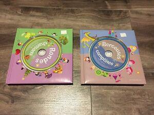 CD de chansons et comptines