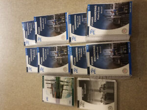 4th class Power Engineering textbooks and workbooks