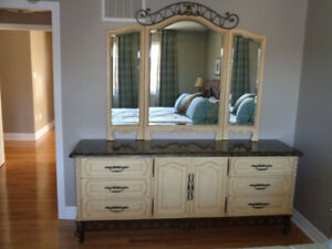Dresser and Armoire