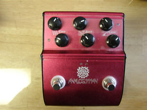 Analogman ADRX20 dual delay with tempo control