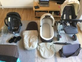 Mamas and Papas Urbo travel system Chestnut in excellent condition