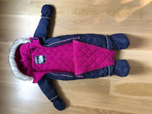 Gusti one piece snowsuit 18m