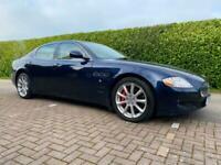 Maserati Quattroporte V8 S Automatic Blue 2010 10 reg