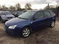 FORD FOCUS 2006 1.6 SPORTS PETROL - MANUAL - LOW MILEAGE - 1 PREVIOUS OWNER