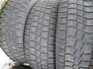 P235/65R17 STUDDED SEVERE SNOW RATED AVALANCHE TIRES