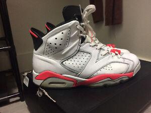 Jordan 6s White Infrared Read DESCRIPTION