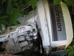 1988  OMC Johnson Evinrude 110hp crossflow parts motor