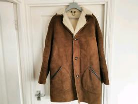 Men's brown sheepskin coat Baileys of Glastonbury £10