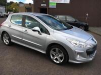 5808 Peugeot 308 1.6 VTi ( 120bhp ) Sport Silver 5 Door 56478mls MOT 12m