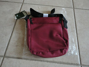 Roots burgundy crossbody messenger bag purse New with tags London Ontario image 2