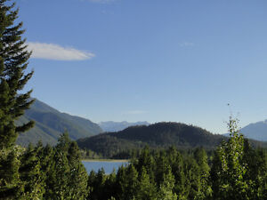 The view from your doorstep in the sunny South Chilcotins!