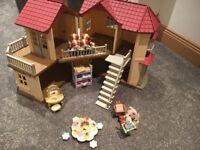 Sylvanian families beechwood cottage